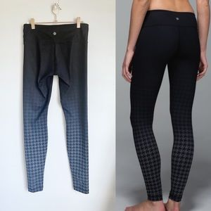 LULULEMON Wunder Under Giant Houndstooth Dip Dye